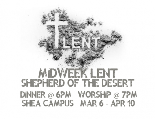 Midweek Lent Services