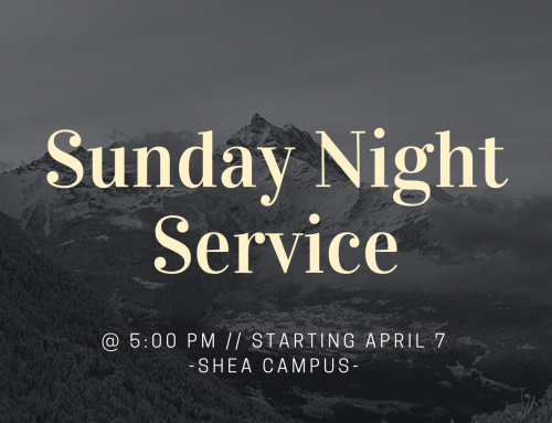 New Sunday Night Service